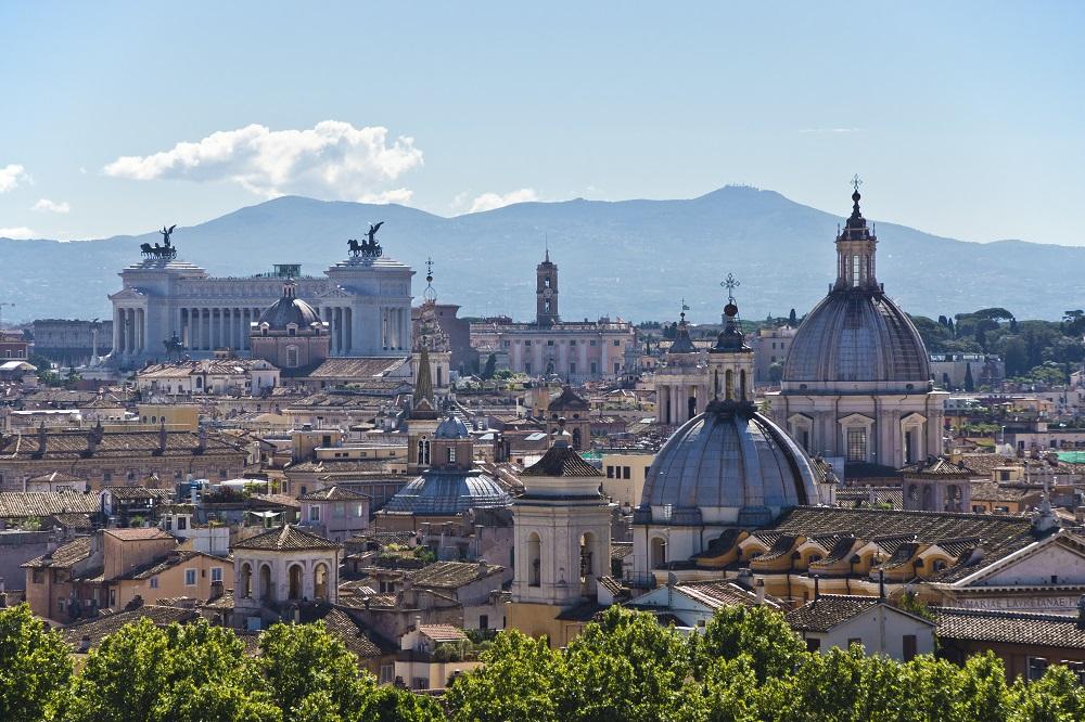 Città di Roma, Skyline