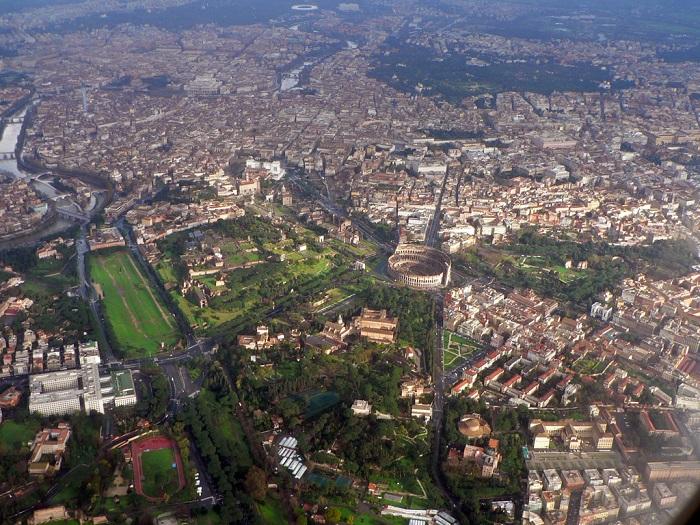 Roma vista della città